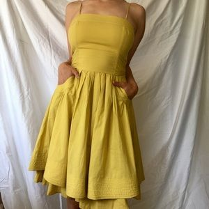 Dresses & Skirts - Perfect Yellow Summer Dress with Pockets!
